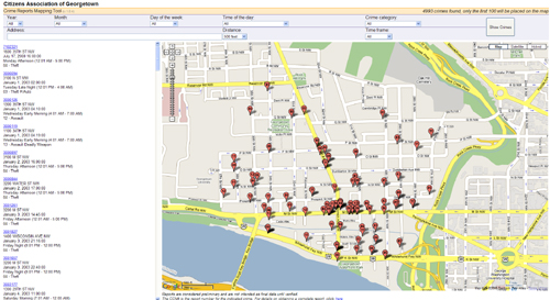 CAG Crime Map