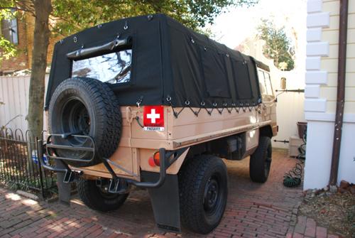 Pinzgauer High Mobility All-Terrain Vehicle