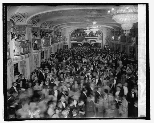 Calvin Coolidge's Inaugural Ball 1925 - Courtesy of the Library of Congress