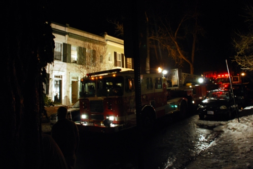 Small Fire on Avon Pl.