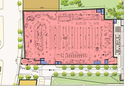 What's In Store for Social Safeway?   The Georgetown ...  Safeway Store Layout