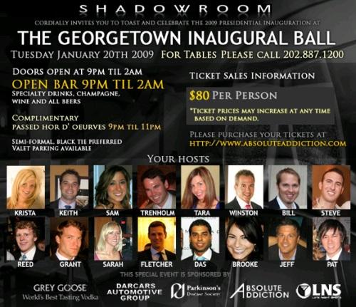 Georgetown Inaugural Ball