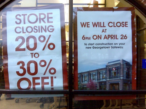 Social Safeway will close April 26, at 6:00 PM