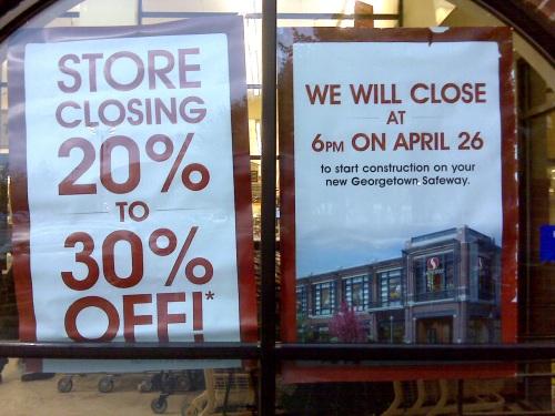 Social Safeway will close April 26, at 6:00 PM