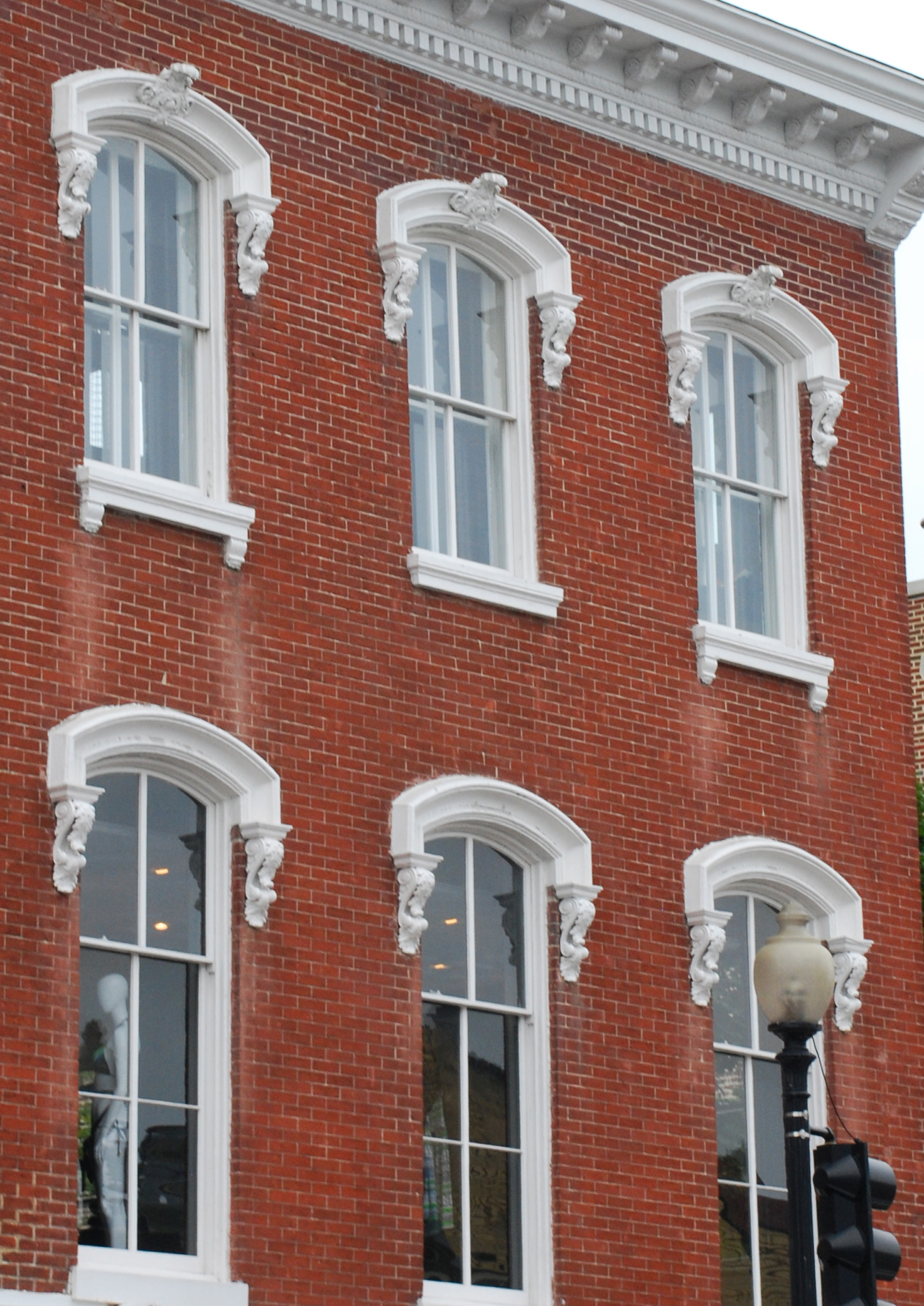 Field guide to georgetown homes the romantic period the for New window styles for homes