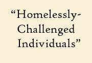 homelessly