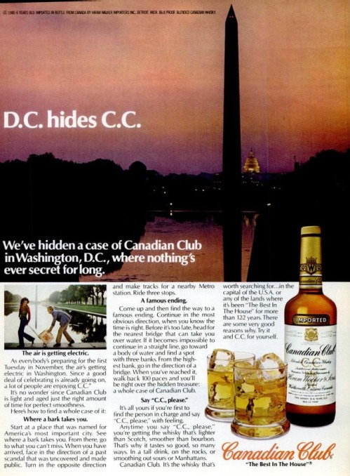 Canadian Club Ad