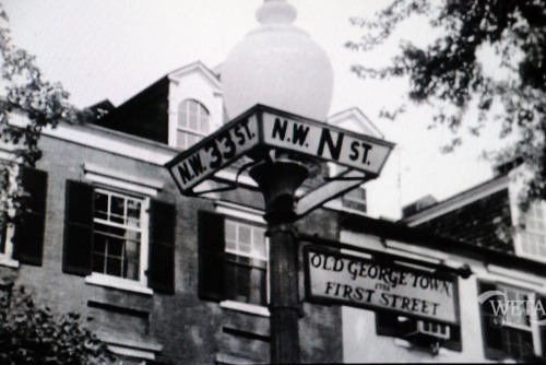 Old Georgetown Street Signs