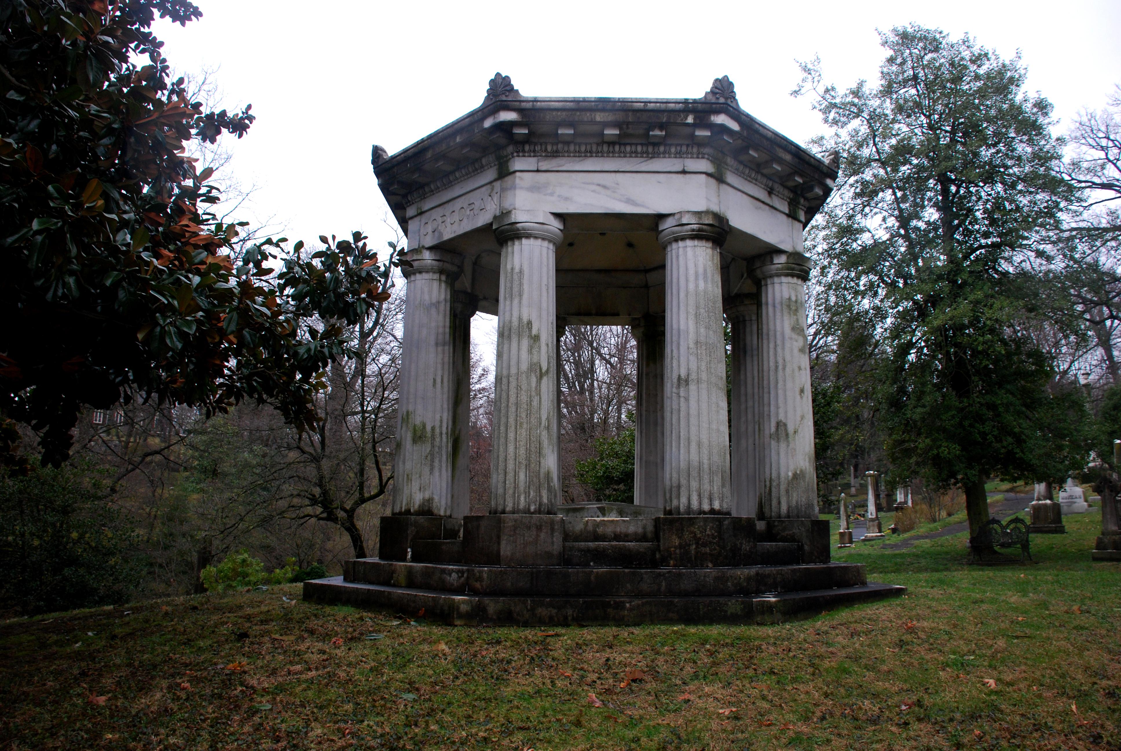 Oak Hill Cemetery In Washington D C