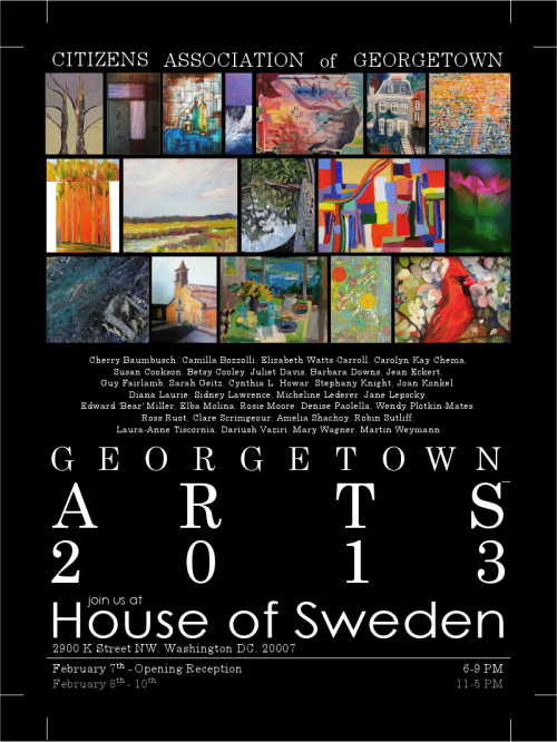 Georgetown Arts 2013 Poster