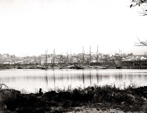 Georgetown_waterfront_in_1865