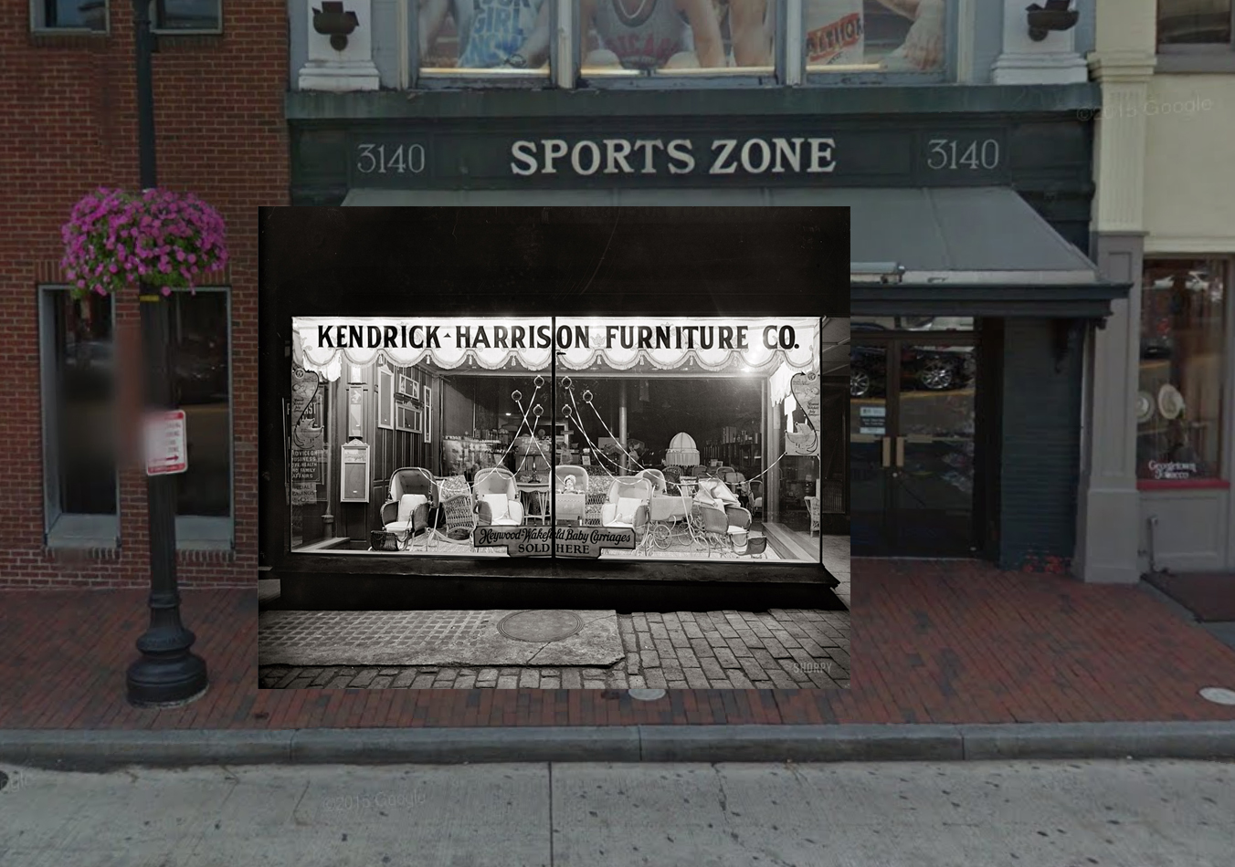 Furniture store front - Now And Then Kendrick Harrison Furniture Sports Zone While The Storefront
