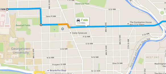 GUTS Bus Begins New Route | The Georgetown Metropolitan