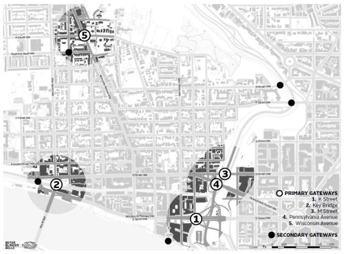 Georgetown Gateways Map BBB