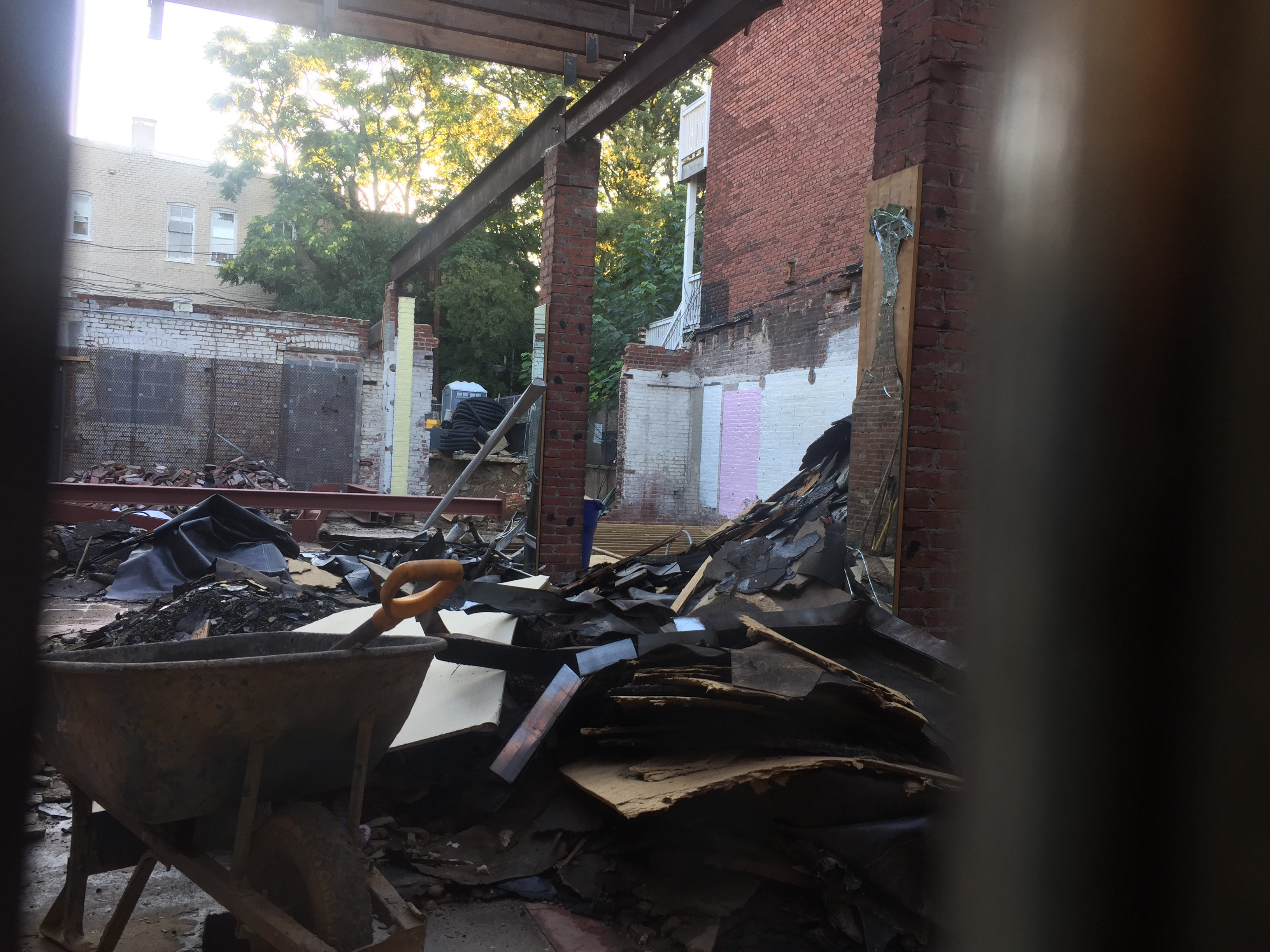 Former Cheap Suit Stores Basically Demolished | The Georgetown ...